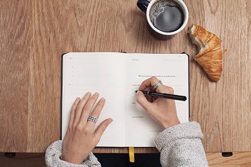Organisiert, fokussiert und strukturiert im Alltag