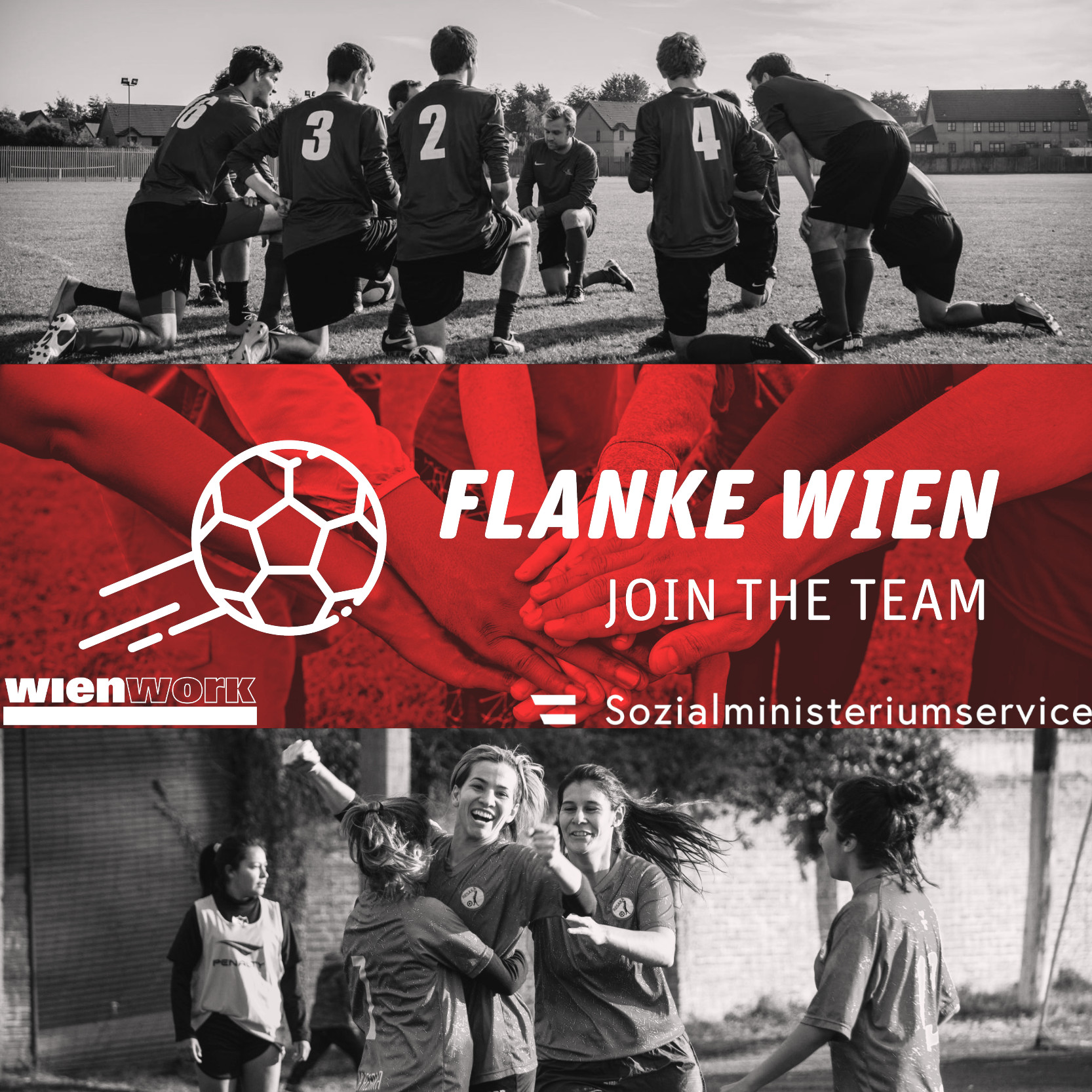 Flanke Wien - Join the Team