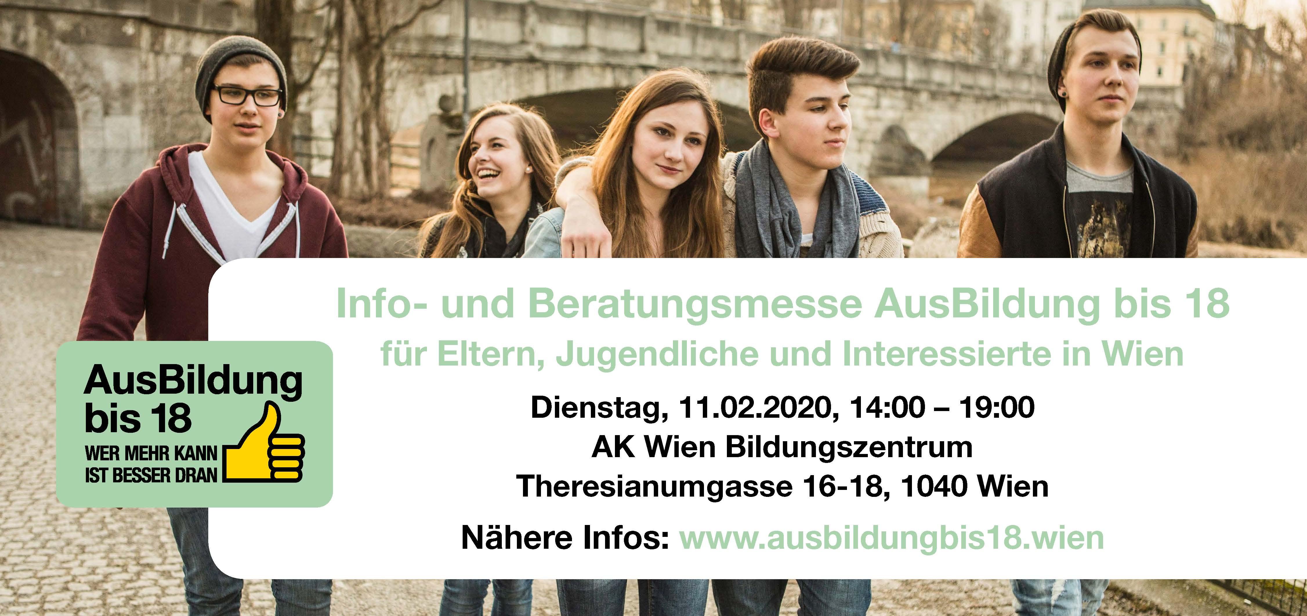 Info- und Beratungsmesse AusBildung bis 18