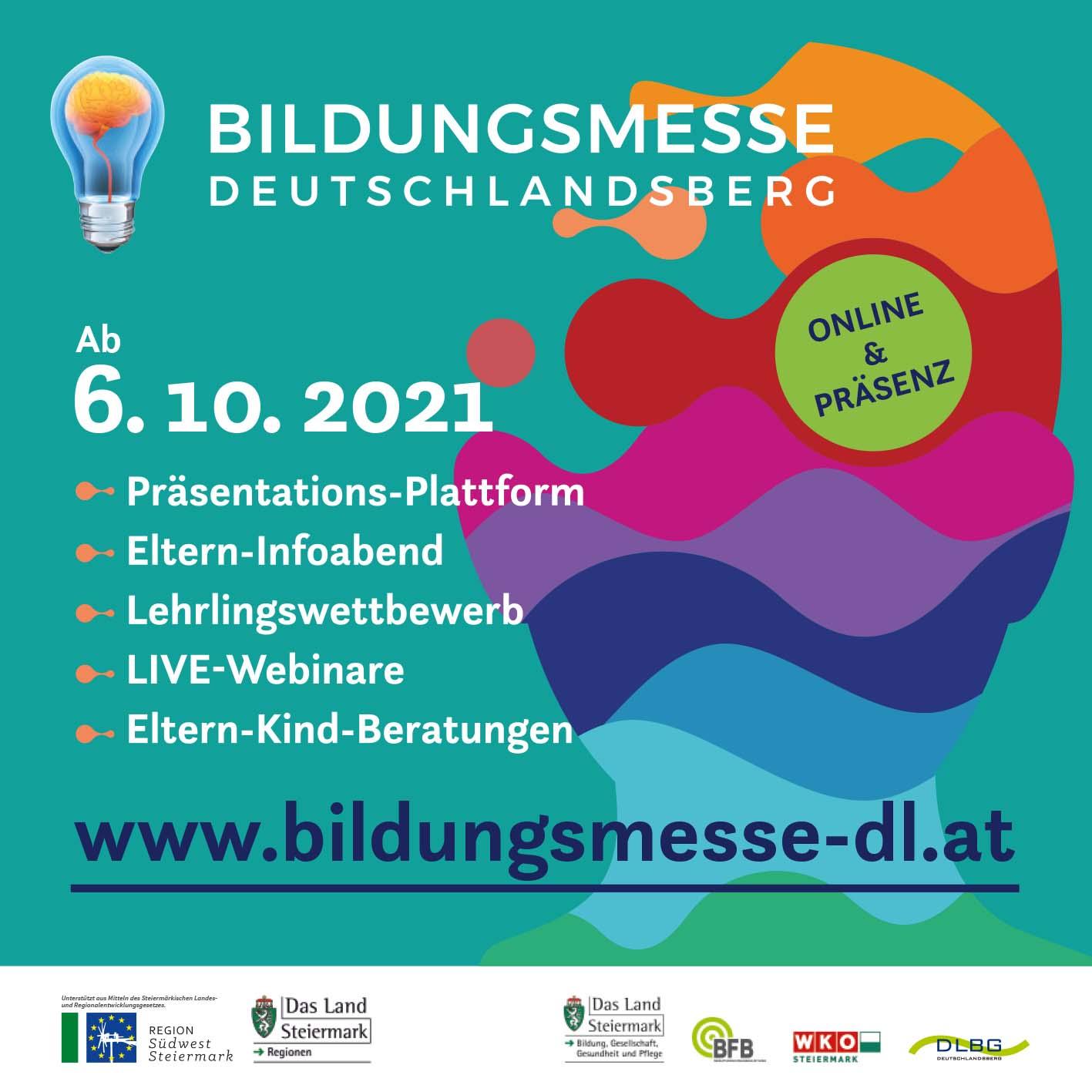 Bildungsmesse Deutschlandsberg 2021