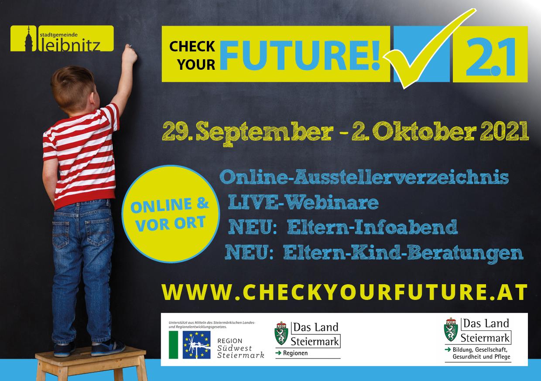 "Bildungsmesse Leibnitz ""Check your future"" 2021"